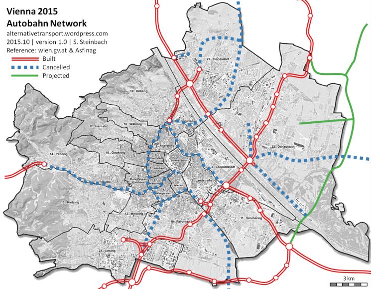 Vienna Autobahn Network 2015 v1.0