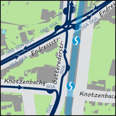 Atzgersdorf S-Bahn Station ist m