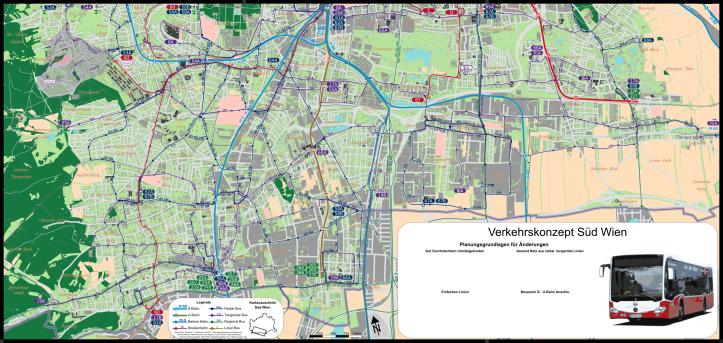 Wien Süd Verkehrsnetz Konzept 3.2A 150dpi